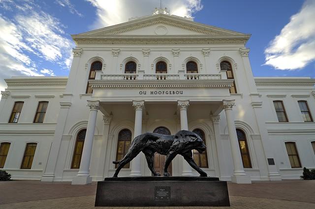 gallery, dylan lewis,striding lion, ou hoofbebou, stellenbosch,