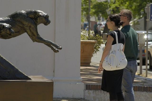dylan lewis, sculptures, stellenbosch, exhibition, bronze south african art, south african artist,
