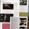 conde nast house and garden oct 2008, dylan lewis, stellenbosch, sculptures, exhibition,