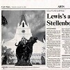 cape times - 6 january 2009, dylan lewis, sculpture, exhibition, stellenbosch, bronze sculptures,